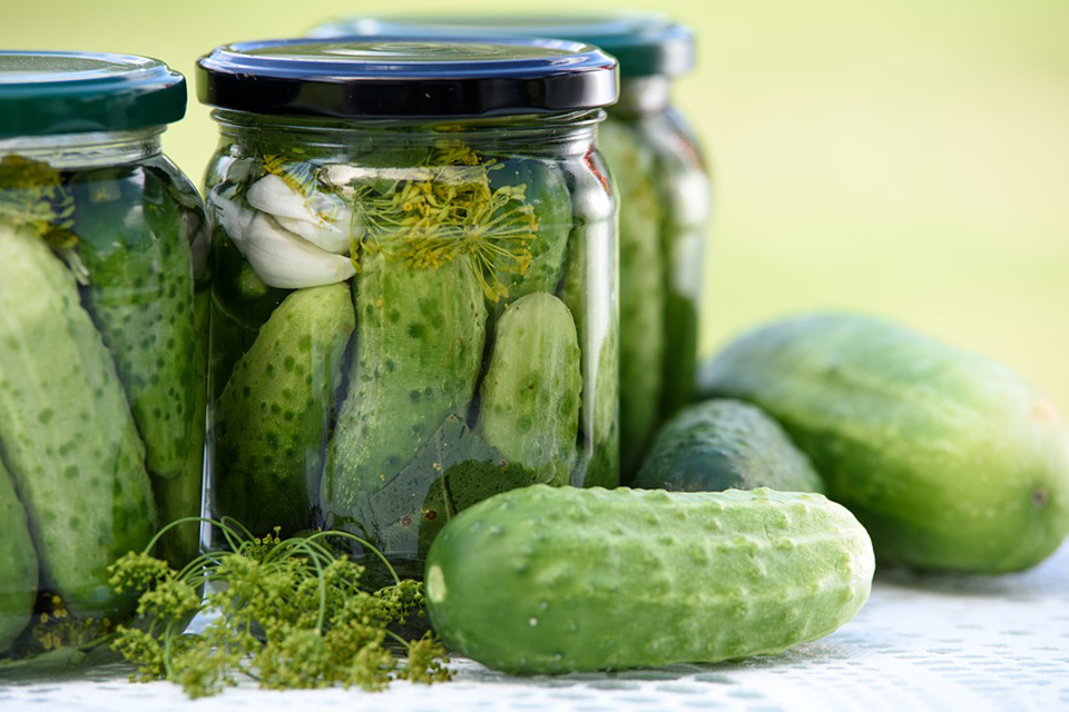 pickled cucumbers homemade preserves